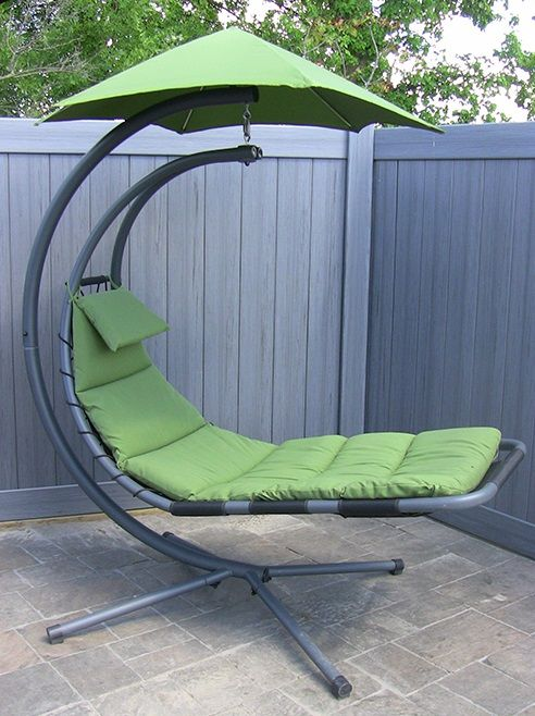The Zero Gravity Hammock Chair will have you floating through dreamland