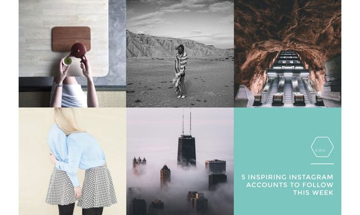 5 Inspiring Instagram Accounts To Follow This Week — #1  #photography #instagram #inspiration