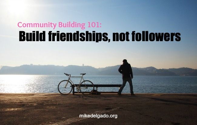 Excellent community building tips #cmgr