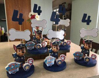Paw Patrol ballon boeket van CutePartyBoutique op Etsy