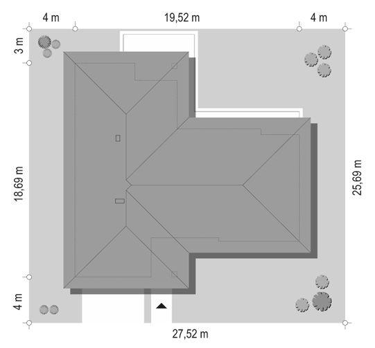projekt-domu-parterowy-2-sytuacja