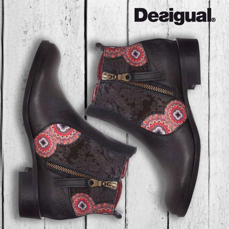 #desigual #boots #brands