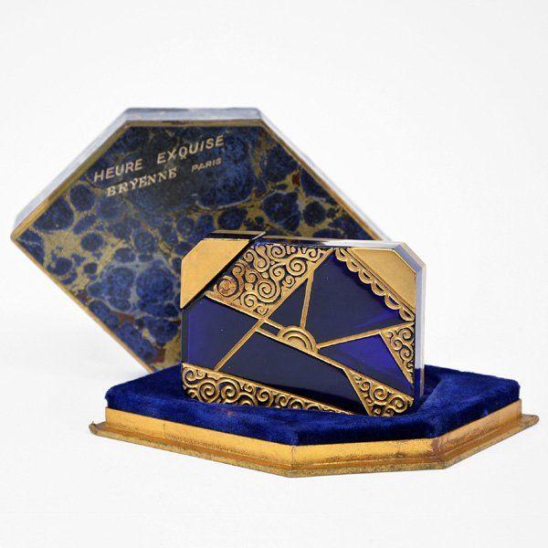 Heure Exquise Art Deco Perfume Bottle, Breyenne