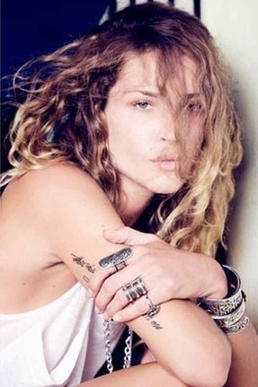 Low Luv by Erin Wasson Carved Aztec Ring in Silver. Click the link to shop right now!
