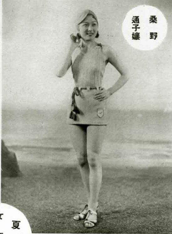 桑野通子 Kuwano Michiko