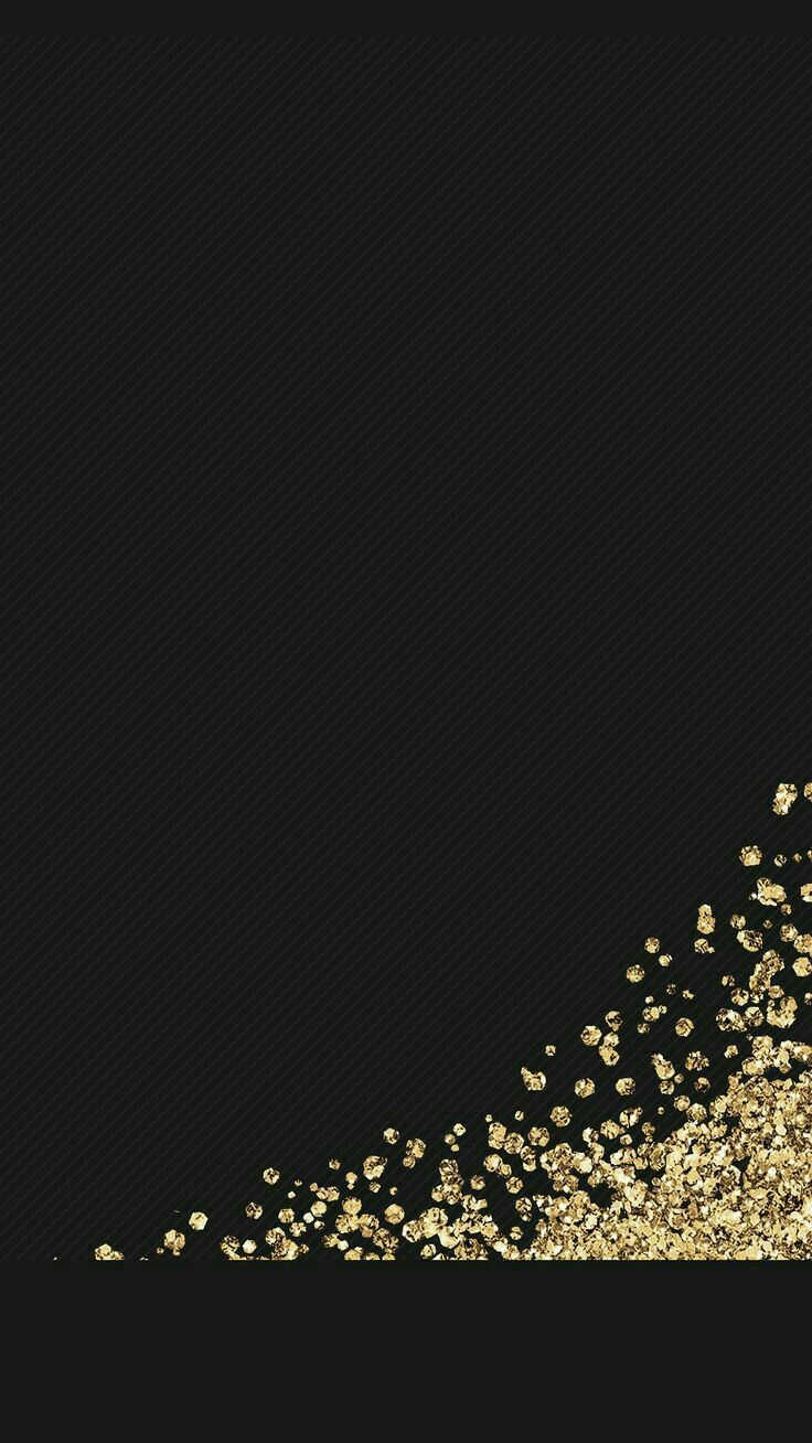 Black & gold flecks phone wallpaper-look for the matching wallpaper in my collection