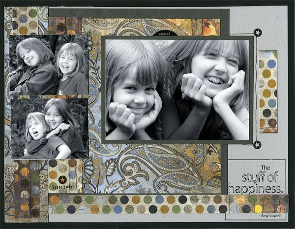 Happiness (Basic Grey / Prism) - Scrapbook.com
