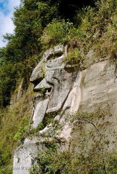 Ecuador - Saquisili - la Cara del Diablo, the Devil's Face