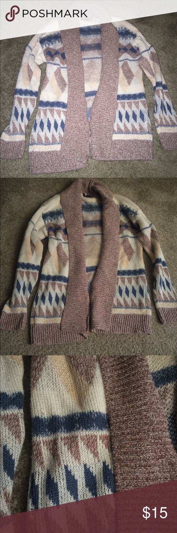 Tribal print cardigan Super warm tribal print cardigan. Sparkle & Fade Sweaters Cardigans