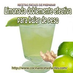 Receta de limonada doblemente efectiva para bajar peso✅además te ayuda a mantener un organismo limpio y libre de toxinas, he ahí el secreto de por qué es tan efectiva.