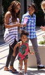 Melanie Brown also known as Mel B or Scary Spice, and her daughter were seen on many occasions with our Born Free cups!