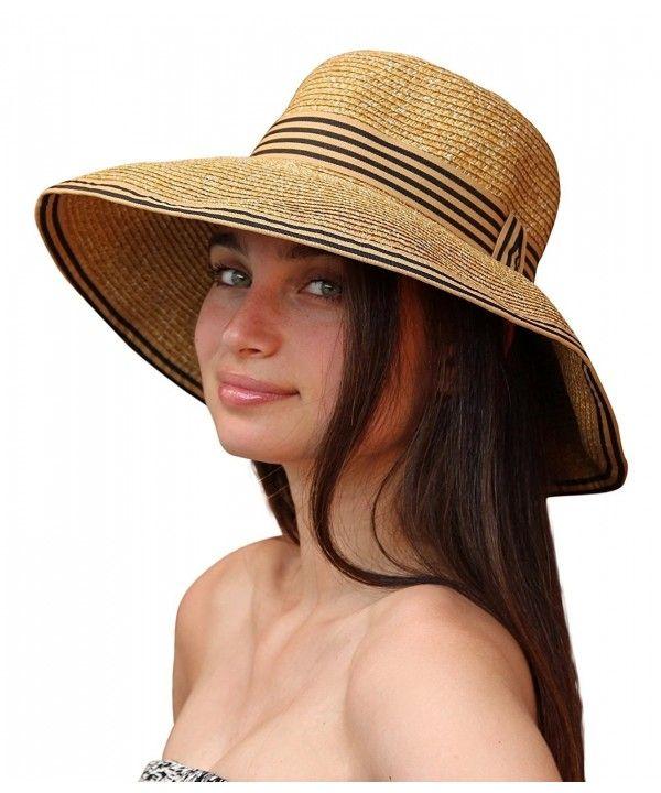 Napa Women's Sun Hat with UV Protection (Natural) CD12GZD0JUD | Sun hats  for women, Womens beach hat, Sun hats
