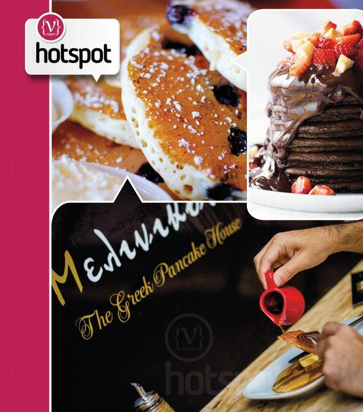 Hot Spot Melinikon – The Greek Pancake House  http://vesper.gr/s/hot-spot-melinikon-2/