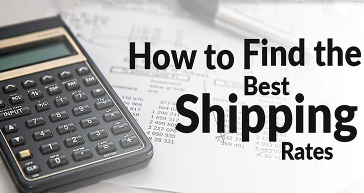 A Valuable Guide to Finding the Best Shipping Rates | Transportation, Good things, Business