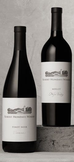 Mondavi Merlot - another go to that every liquor store has