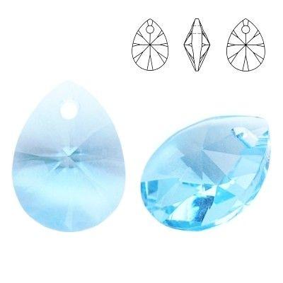 6128 Mini Pear 8mm Aquamarine 5 pieces  Dimensions: 8,0mm Colour: Aquamarine 1 package = 5 pieces