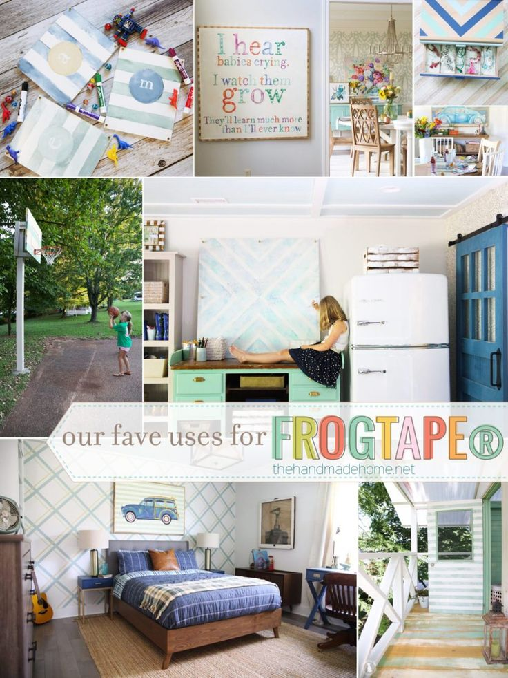 our favorite project ideas with frogtape®