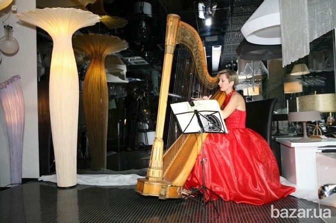 Игра на арфе, арфистка, арфа, заказать живую музыку для встречи гостей - Организация праздников Киев на Bazar.ua
