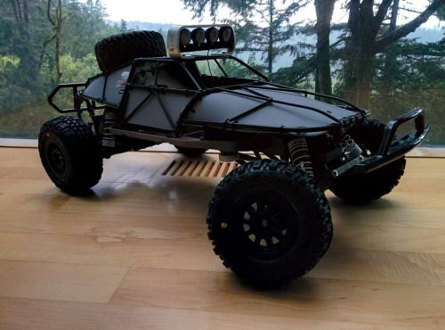 My Slash 2wd first hobby grade rc car that I made my own