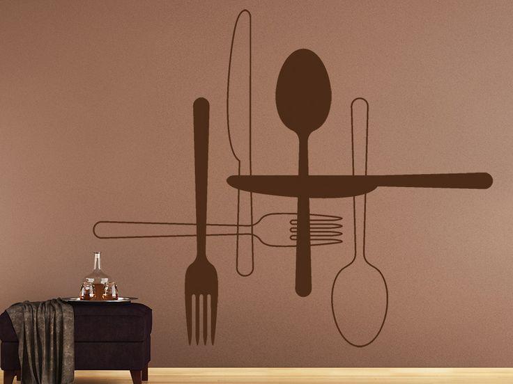 17 beste ideer om Küche Dekoration Wand på Pinterest Wandtisch - küche deko wand