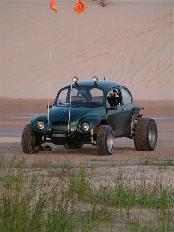 Baja Bug-18 years old in Oregon city with a bunch of my redneck buddies, we drank a lot of nasty liquor...after a ride in this, my first time throwing up and passing out. I even called my mom from bridge with my giant 500 lb cell phone. Haven't ridden in one since. I don't drink like that anymore...I think I could handle it now and remember the experience.