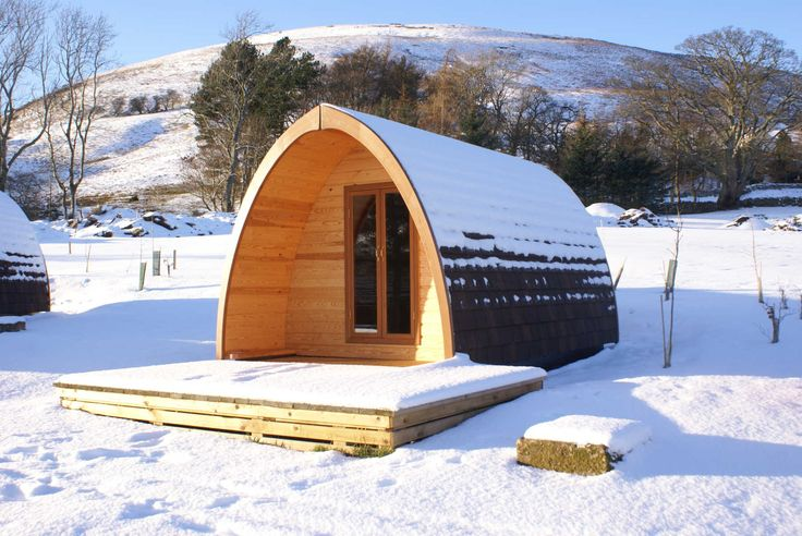 'The Quiet Site' is what it says on the label. Escape to this winter pod in Penrith, Cumbria - Pitchup.com