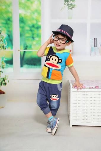 Setelan Baju Anak Cowok Korea DL