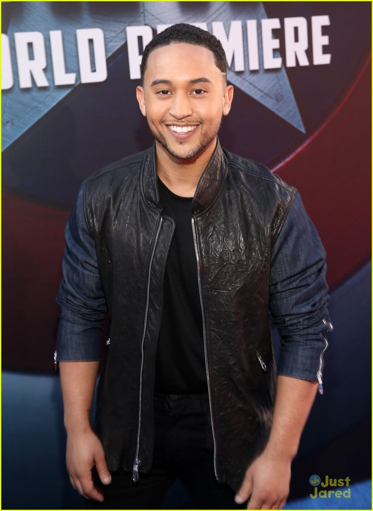 Tahj Mowry at the premiere of 'Marvel's Captain America: Civil War'