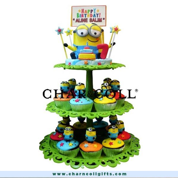 The despicable me minion fever is here to stay. We offer minions 3d cupcake 25pcs with icing and an edible motif, Since everything is made to order I will only make your order upon your confirmation. Order now : www.charncollgifts.com | 021-7197234 #Cupcake #Cake #Minions #DespicableMe #Fresh
