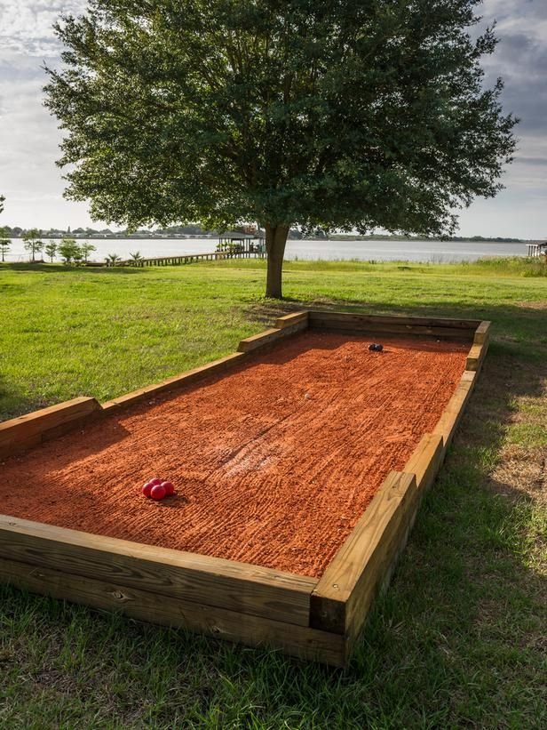 16 best bocce ball plans images on Pinterest
