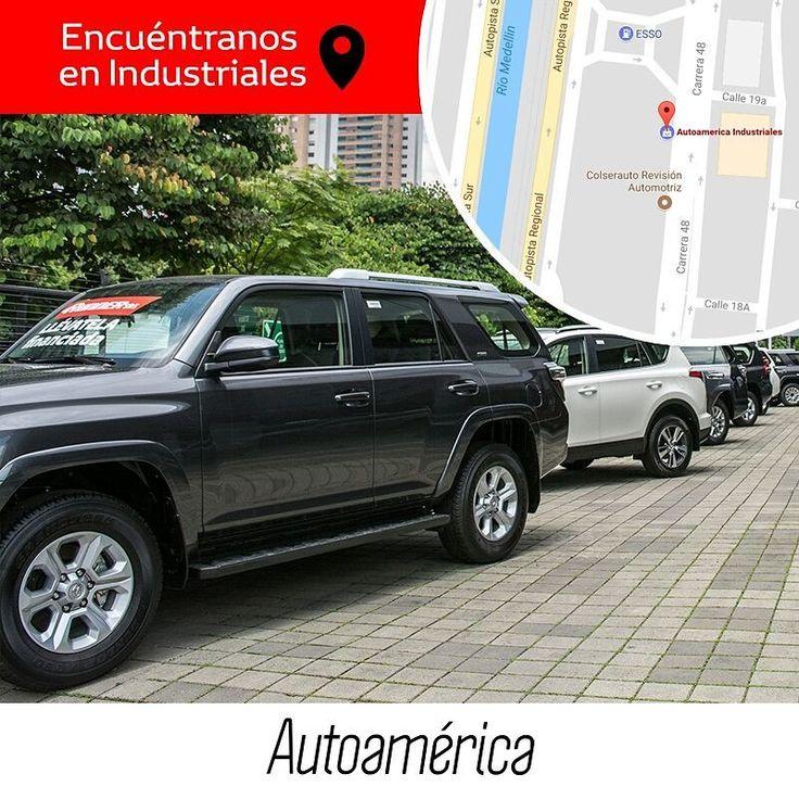 Los vehículos SUV, pick up y 4x4 #Toyota que buscas para andar por todos los caminos, ¡están en #Autoamérica! Visita nuestra sede en #Industriales para atenderte con todo el gusto y resolver todas tus dudas.