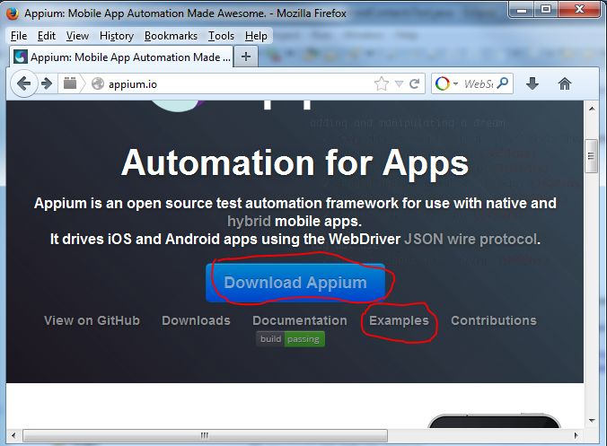 how to automate mobile application testing using selenium appium httpwww