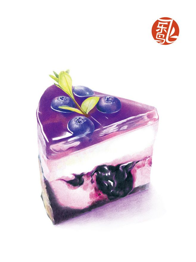 《甜点绘》——20种甜蜜滋味任你选择,从...@弥璃采集到甜品(386图)_花瓣插画/漫画