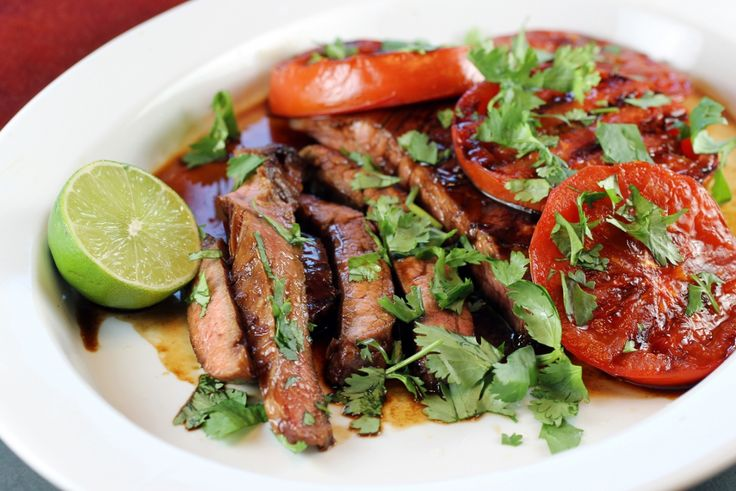 The perfect dinner? Sous Vide Asian Flank Steak is easy (and delicious).