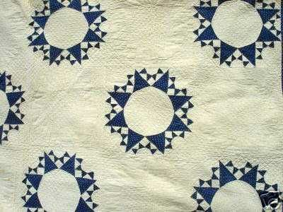 Antique Quilt Patterns est un excellent Bleu Blanc Antique Quilt dans un modèle que je Haven T Vu Avant