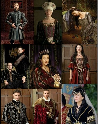 Costumes from The Tudors