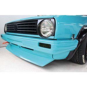 Euro Magic VW Golf 2 Front lip  #euromagic #vw #volkswagen #golf2 ##voomeran #kamiwazajapan #1048style