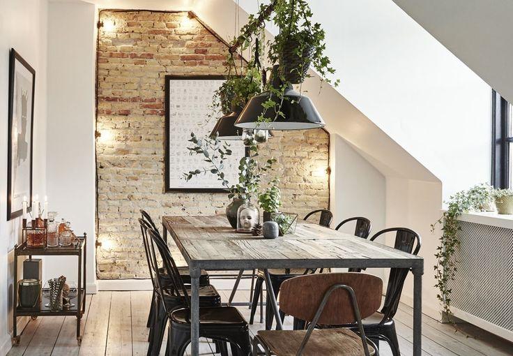 Sådan indretter du dit hjem med rå murstensvægge   Boligmagasinet.dk