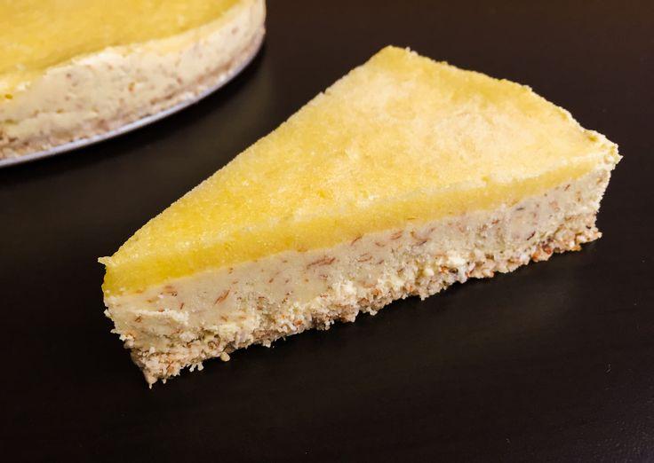 Mandlovo-ananasový raw dortík