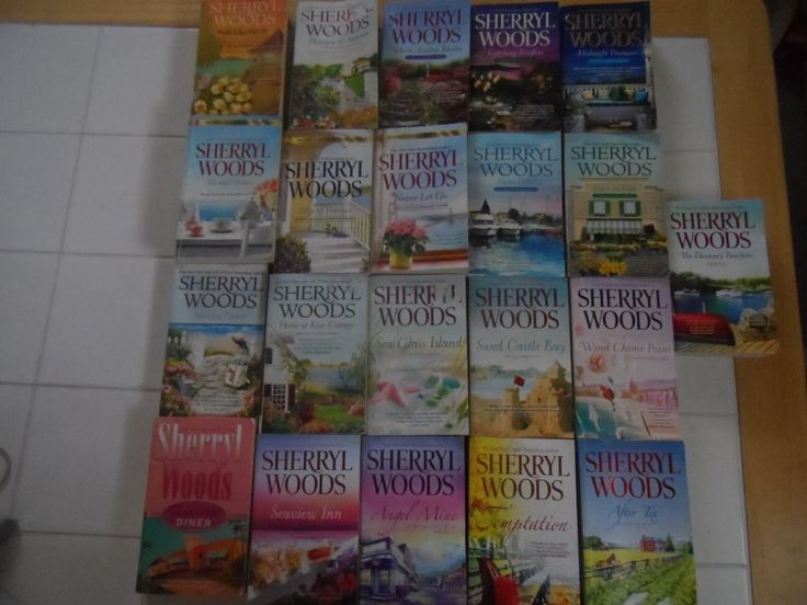 Sherryl Woods 21 Lot Books Ocean Breeze, Chesapeake Shores, Sweet Magnolia +