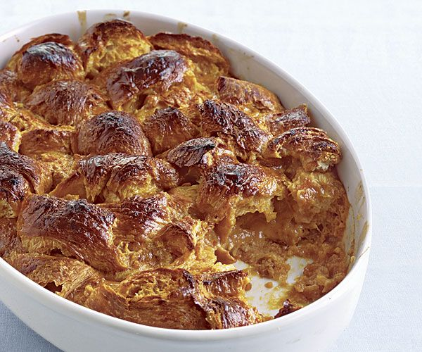 Caramel Croissant Bread Pudding | Foods and Drinks | Pinterest