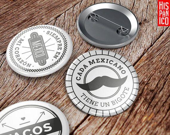 Buy on http://www.hispanicopl.etsy.com // #Spain #spanish #badges #hiszpańskie #przypinki #Hiszpania #prezent #gift #regalo #espanol #espana
