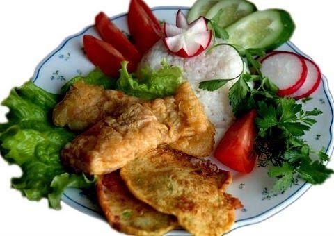 Тайны хорошей кухни.Рецепты: Рыба жареная в тесте #рыба #филе #жареная #в_тесте