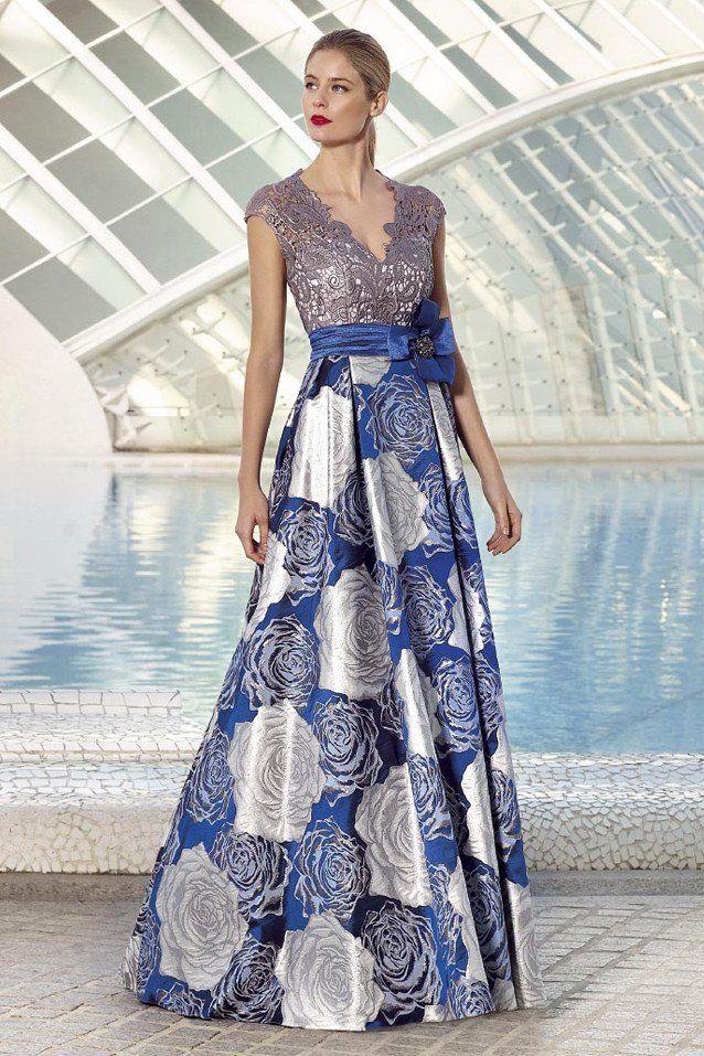 Vestido de fiesta largo 1170397 by Sonia Peña Couture 2017