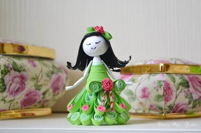 Claras Paper Garden: quilling