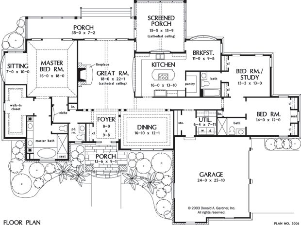 The Spencer Hall House Plan Images   See Photos Of Don Gardner House Plans