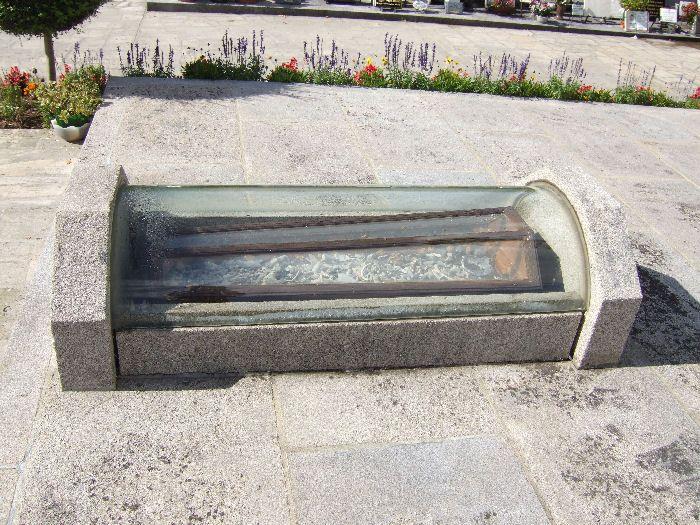 Ossuary in Oradour-sur-Glane cemetery
