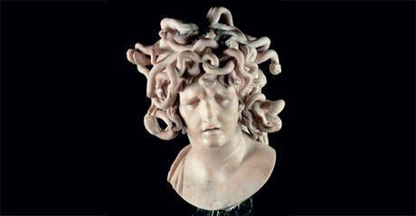 Busto di Medusa, Bernini, Palazzo Conservatori - Risposta 112: Sala delle Oche