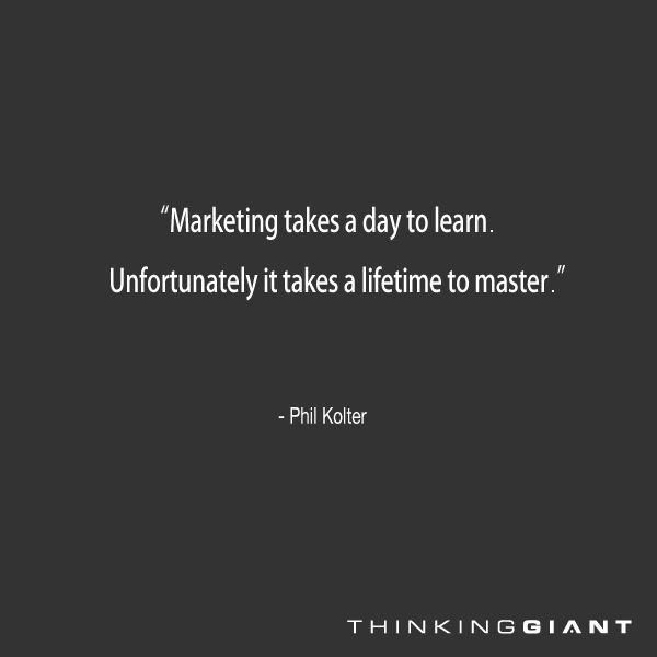 There is always room for something new to learn in the world of Marketing.