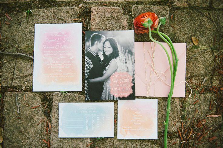 Surprise Wedding Invitation Wording: 1000+ Images About Wedding Invitations On Pinterest